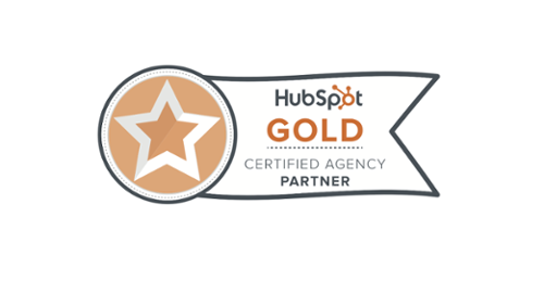 HubSpot Gold Partner banner