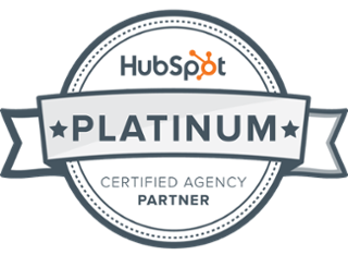 Hubspot Platinum Partner Badge