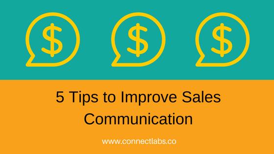 Improve inbound sales communication