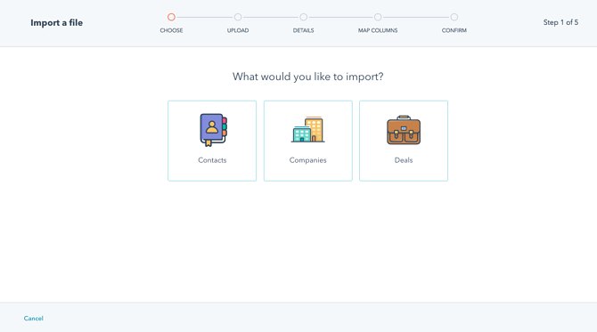 How to import contacts into HubSpot CRM