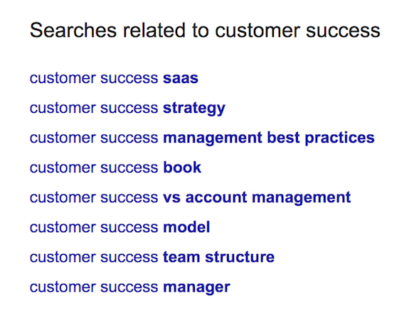 customer-success-related-searches