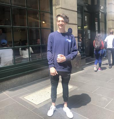 Marcus Luciani, Connect Labs internship Melbourne